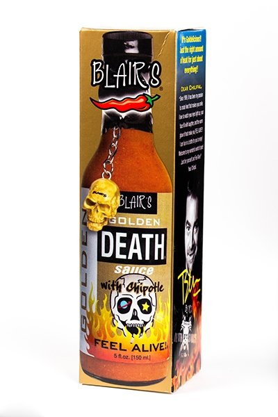 Blair's Golden Death Sauce brought to you by one of the World's most respected hot sauce makers, Blair's Death Sauce.