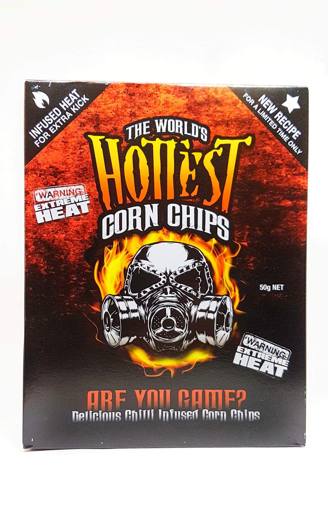 The World's Hottest Corn Chips from Chilli Seed Bank.