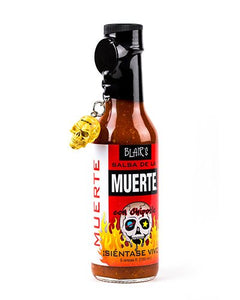 Blair's Salsa De La Muerte Death Sauce brought to you by one of the World's most respected hot sauce makers, Blair's Death Sauce.