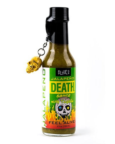 Blair's Jalapeno Death Sauce brought to you by one of the World's most respected hot sauce makers, Blair's Death Sauce.