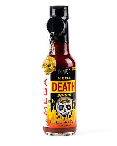 Blair's Mega Death Sauce brought to you by one of the World's most respected hot sauce makers, Blair's Death Sauce.