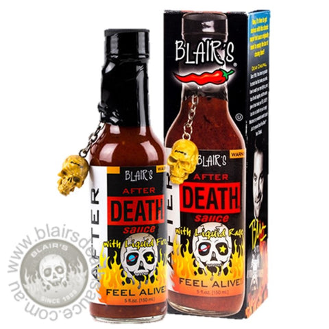 Blair's After Death Sauce brought to you by one of the World's most respected hot sauce makers, Blair's Death Sauce. Buy it in Australia at www.blairsdeathsauce.com.au
