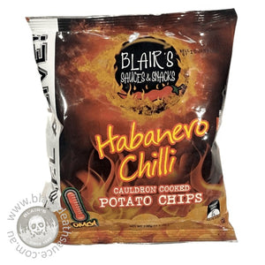 Blair's Habanero Chilli Potato Chips