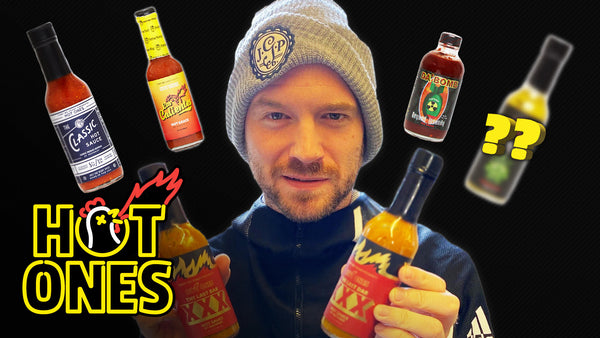 Blair's Mega Death Sauce. As seen in Australia on HOT ONES.