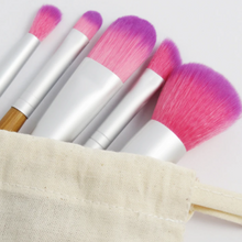 Load image into Gallery viewer, Bamboo Makeup Brush Set