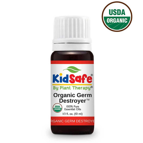 Germ Destroyer Certified Organic KidSafe 100% Pure  Essential Oil 10 mL by Plant Therapy