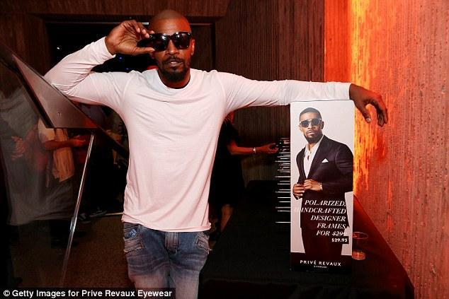Jamie Foxx hosts star studded Prive Revaux party