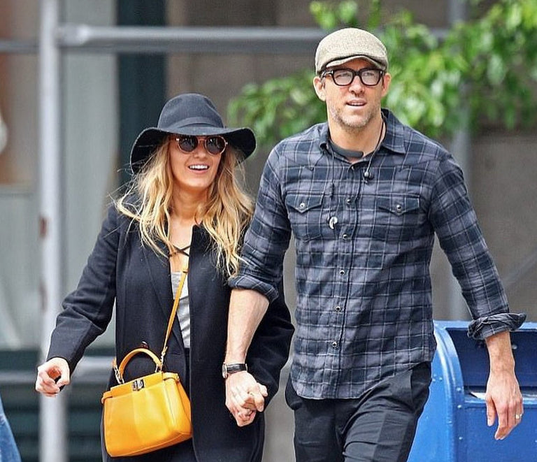Blake Lively Spotted in Privé Revaux