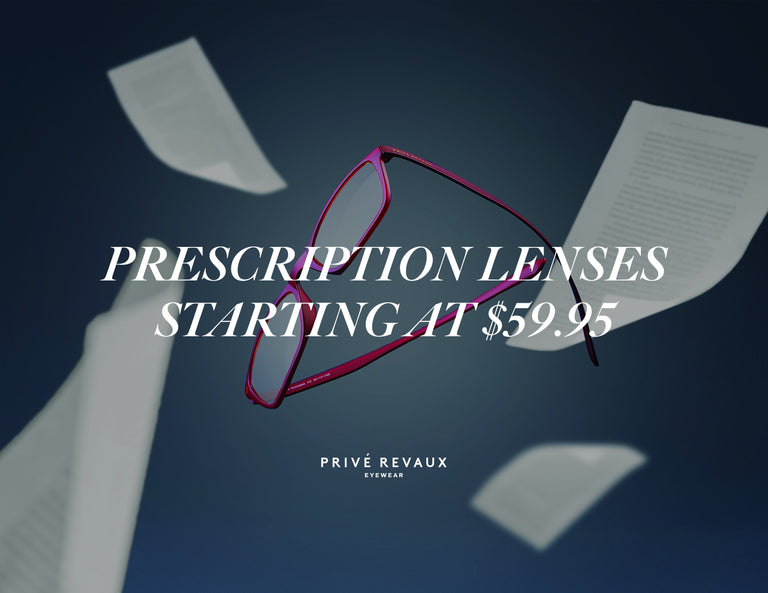 Privé Revaux Launches Prescription Lenses At Affordable Price