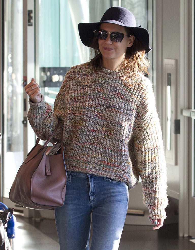 Katie Holmes can't stop wearing these $30 sunglasses designed by Jamie Foxx