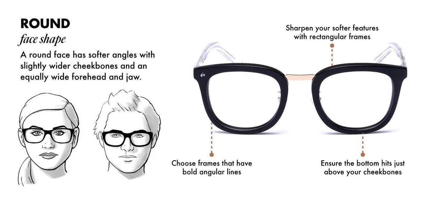 21612059fb4a7 Glasses and Sunglasses for Round Shape Face - Privé Revaux