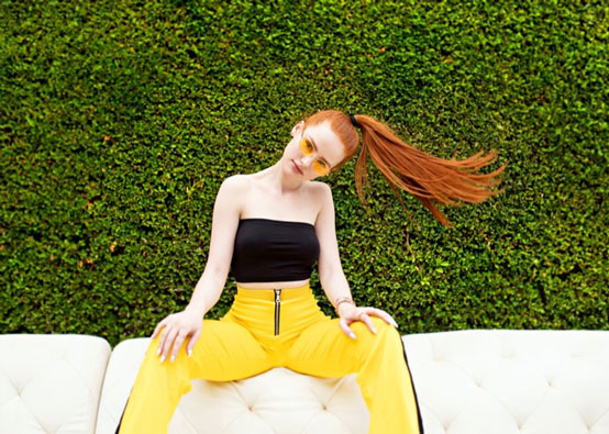 65cfaa250438d Madelaine Petsch Launches a Sunglass Collection with Privé Revaux Eyewear