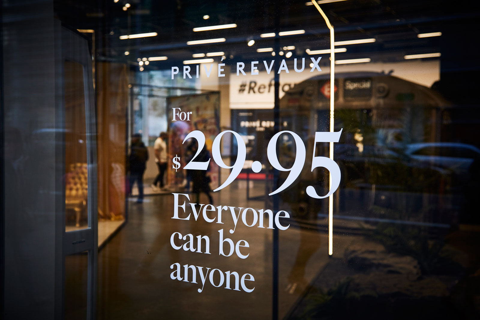 A Privé Revaux kiosk coming to a mall near you!