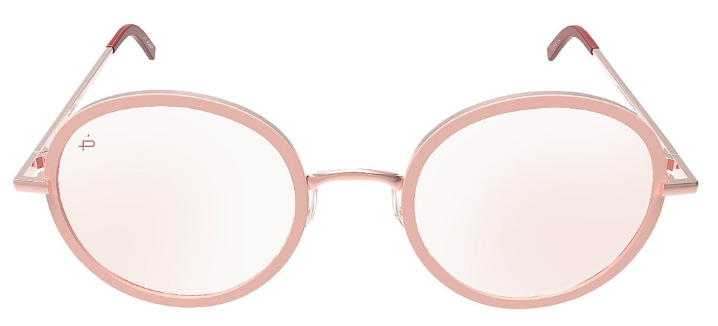 416d0093be8c The Street - Rose Gold Stainless Steel Sunglasses - Privé Revaux ...