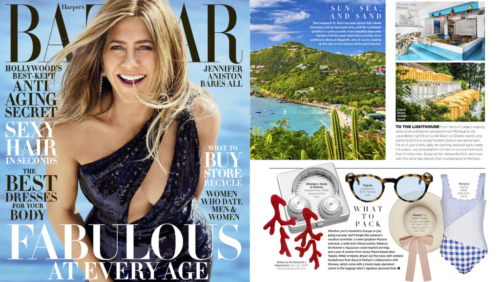Crazy Horse featured in Harper's Bazaar