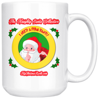 I Need A Firm Hand: (Naughty Santa Collection) 15oz Mug