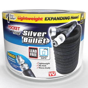 Pocket Hose Silver Bullet - Stop Fussing With That Old Hose