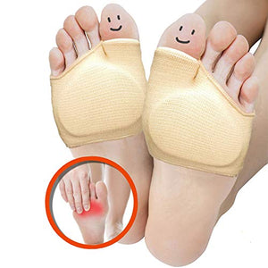Metatarsal Sleeve Pads, Half Toe Bunion Sleeve with Sole Forefoot Gel Pads Cushion garrison-city-gadgets.myshopify.com [option1] [option2] [option3]
