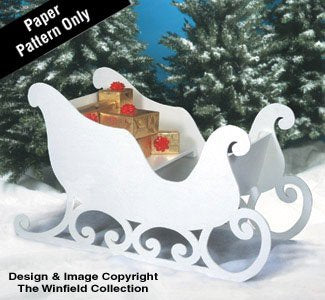 Winfield Collection Santa's Sleigh Woodworking Plan garrison-city-gadgets.myshopify.com [option1] [option2] [option3]