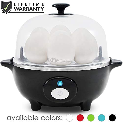 Maxi-Matic EGC-007B Easy Electric Egg Poacher, Omelet & Soft, Medium, Hard-Boiled garrison-city-gadgets.myshopify.com [option1] [option2] [option3]