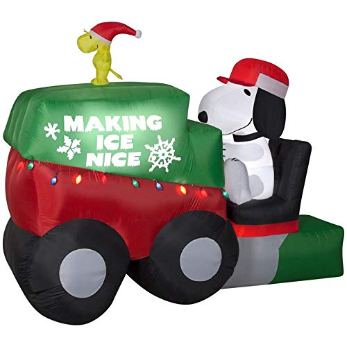 Gemmy 9.5 Ft Christmas Snoopy On Zamboni Macine with Woodstock Indoor/Outdoor Decoration garrison-city-gadgets.myshopify.com [option1] [option2] [option3]