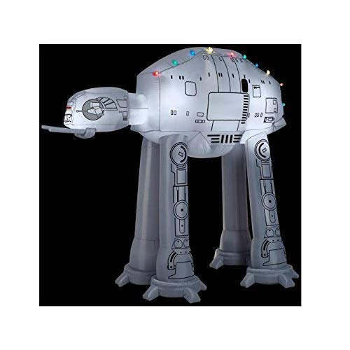 Gemmy 37523 Airblown at-at w/Light String Star Wars Christmas Inflatable garrison-city-gadgets.myshopify.com [option1] [option2] [option3]