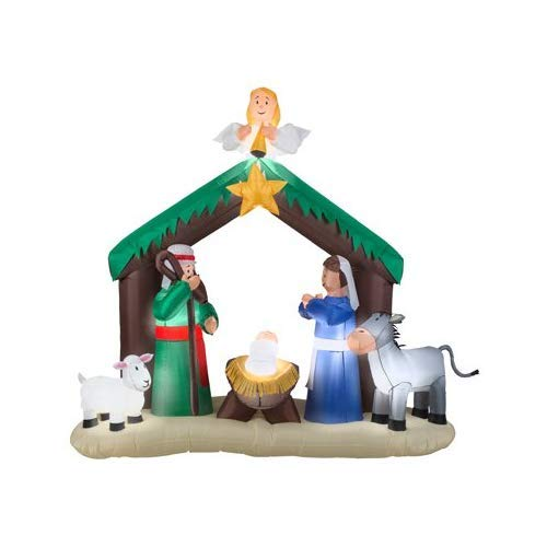 Gemmy 36707 Airblown Nativity Scene Christmas Inflatabl garrison-city-gadgets.myshopify.com [option1] [option2] [option3]