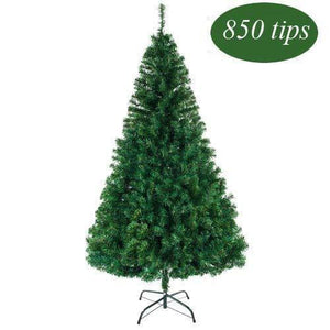 Bonnlo Upgraded Full 5.5 Feet Unlit Artificial Full 850 Tips Branch Christmas Pine Tree garrison-city-gadgets.myshopify.com [option1] [option2] [option3]
