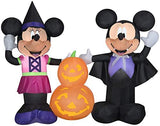 Gemmy 5.5' Wide Airblown Mickey and Minnie w/Pumpkins Disney Halloween Inflatable garrison-city-gadgets.myshopify.com [option1] [option2] [option3]