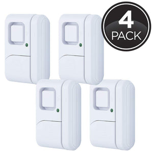 GE Personal Security Window/Door, 4-Pack, DIY Protection, Burglar Alert garrison-city-gadgets.myshopify.com [option1] [option2] [option3]