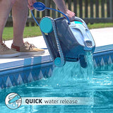 DOLPHIN Advantage Automatic Robotic Pool Cleaner, Compact and Versatile Cleaning, Ideal for In-ground Swimming Pools up to 33 Feet