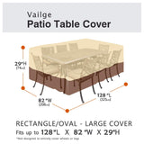 Vailge Waterproof Patio Furniture Set Cover, Lawn Patio Furniture Cover with Padded garrison-city-gadgets.myshopify.com [option1] [option2] [option3]
