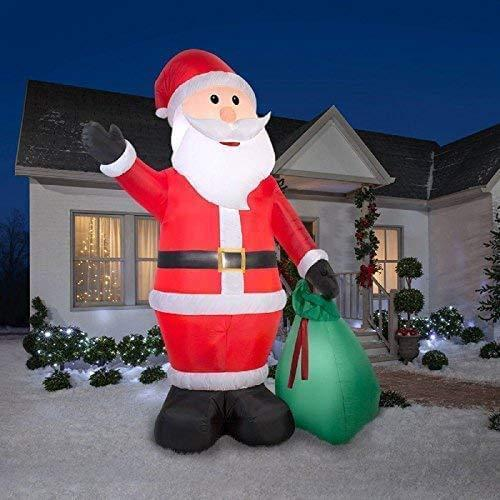 Airblown Inflatables 39845 Santa with Gift Sack Christmas Airblown GIANT 12 FT TALL garrison-city-gadgets.myshopify.com [option1] [option2] [option3]
