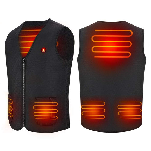 USB Heated Vest, Electric 5V Heated Jacket Clothes Body Warmer Heating Pad garrison-city-gadgets.myshopify.com [option1] [option2] [option3]