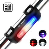 ThorFire Bike Lights Ultra Bright Cycling Lights USB Rechargeable Bicycle Tail Light