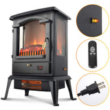LIFE SMART Quarts Infrared Electric Fireplace Stove Heater with Remote Control garrison-city-gadgets.myshopify.com [option1] [option2] [option3]