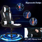 PC Gaming Chair Massage Office Chair Ergonomic Desk Chair Racing
