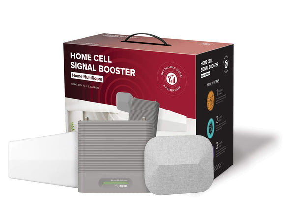 weBoost Home MultiRoom (470144) Cell Phone Signal Booster, Cell Signal Booster Kit garrison-city-gadgets.myshopify.com [option1] [option2] [option3]