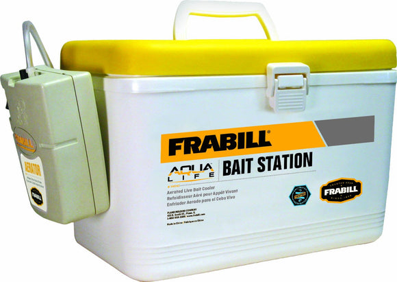 Frabill MIN-O-LIFE Personal Bait Station, 8-Quart