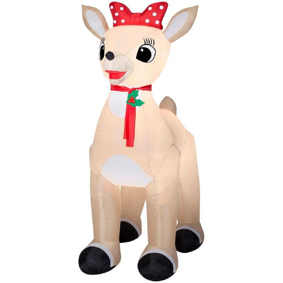 Christmas Inflatable Giant Clarice From Rudolph The Red Nosed Reindeer By Gemmy garrison-city-gadgets.myshopify.com [option1] [option2] [option3]