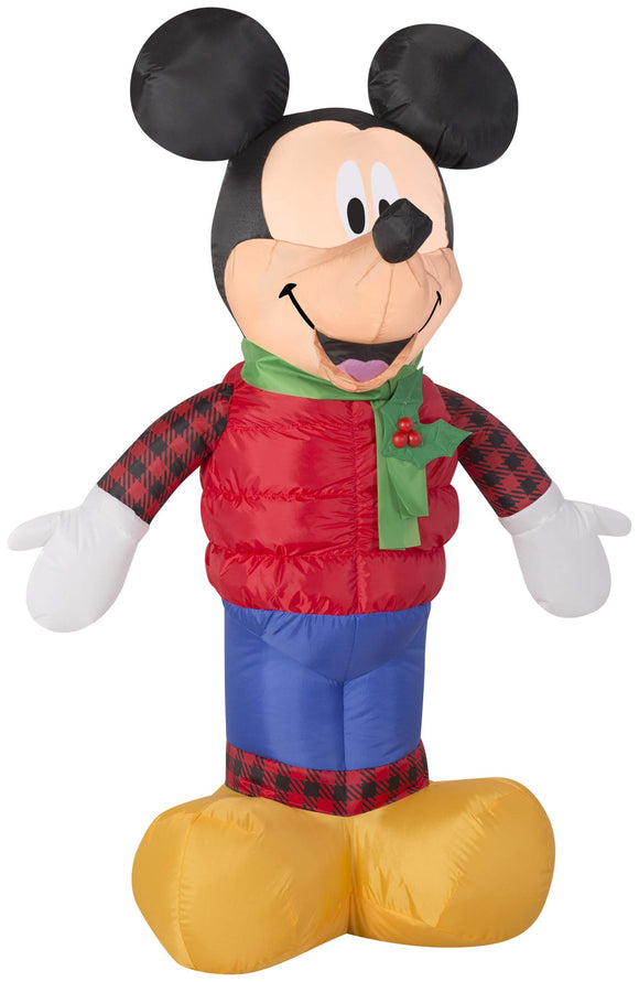 Gemmy 12445 Mickey Outfit Christmas Inflatable 3.5FT Tall garrison-city-gadgets.myshopify.com [option1] [option2] [option3]