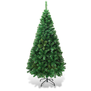 Goplus Artificial Christmas Tree Xmas Pine Tree with Solid Metal Legs garrison-city-gadgets.myshopify.com [option1] [option2] [option3]