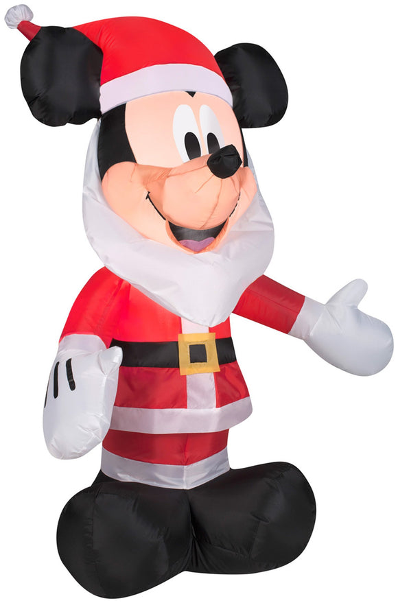Gemmy Inflatables 3.5' Mickey Mouse with Santa Beard Disney Holiday Decor garrison-city-gadgets.myshopify.com [option1] [option2] [option3]