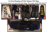 "Vexan ICE Fishing Rod & Tackle Bag 36"" Semi Soft Case and Multi-Piece Fly Rods Box"