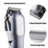 Professional Hair Clippers for Men, BESTBOMG Rechargeable Cordless Hair Cutting Kit, Home Barber Hair Trimmer with Precision Blades Heavy Duty Motor LED Display and 2000mAh Lithium Battery garrison-city-gadgets.myshopify.com [option1] [option2] [option3]
