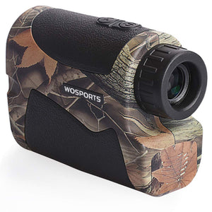 Wosports Hunting Range Finder, 650 Yards Archery Laser Rangefinder for Bow Hunting with Flagpole Lock - Ranging - Speed and Scan garrison-city-gadgets.myshopify.com [option1] [option2] [option3]