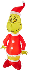 Gemmy Inflatable Grinch as Santa 4' Tall garrison-city-gadgets.myshopify.com [option1] [option2] [option3]