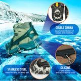 Aoriente Ice Fishing, Crampons