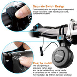 TOPTREK Bicycle Bell 100db Cycling Electric Bike Bell USB Rechargeable
