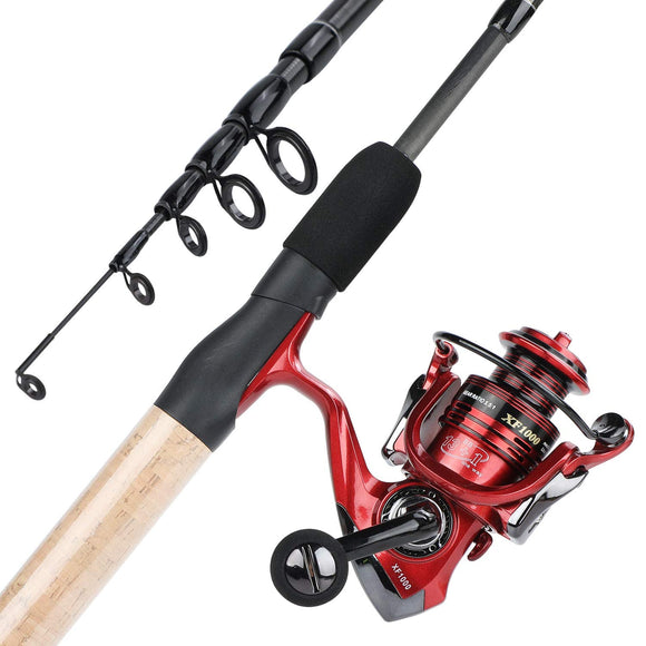 YONGZHI Fishing Rod and Reel Combos,2-Piece Carbon Fiber Protable Fishing Poles garrison-city-gadgets.myshopify.com [option1] [option2] [option3]
